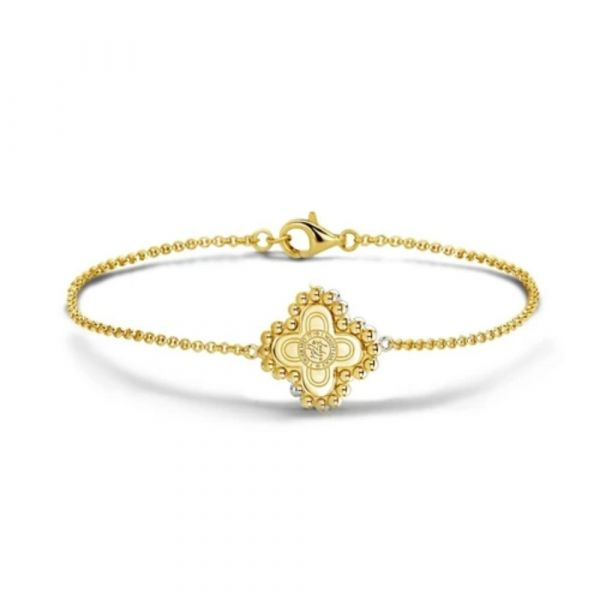 MI MONEDA | Armband Chelsea - gold