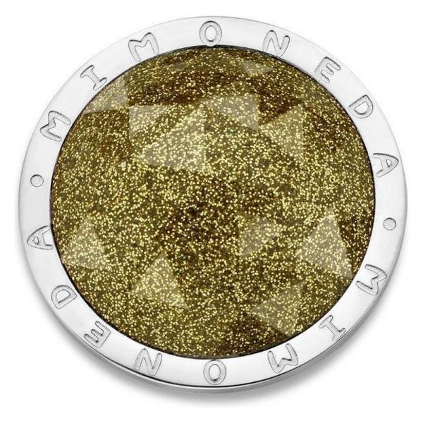 MI MONEDA | Munt Cameleón S - champagne gold