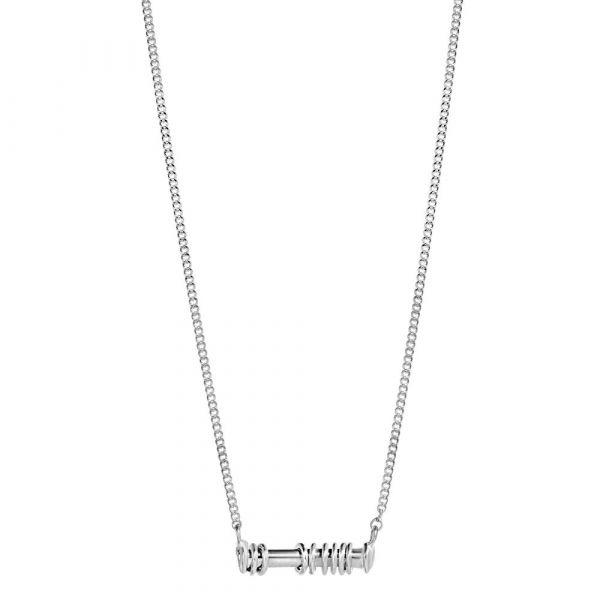 A BREND | Ketting Jobe 40-45cm zilver