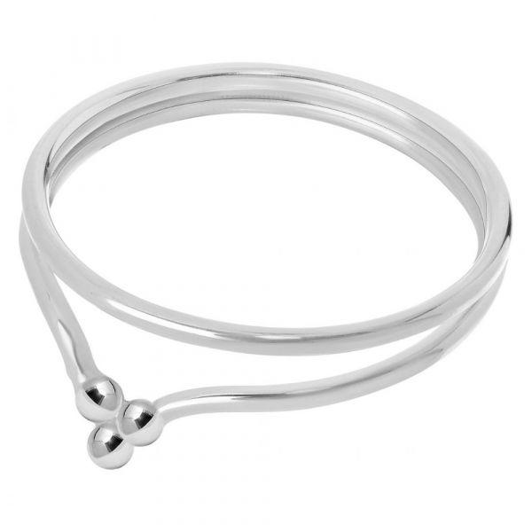 A BREND | Ring Claesse zilver laatste maat 19