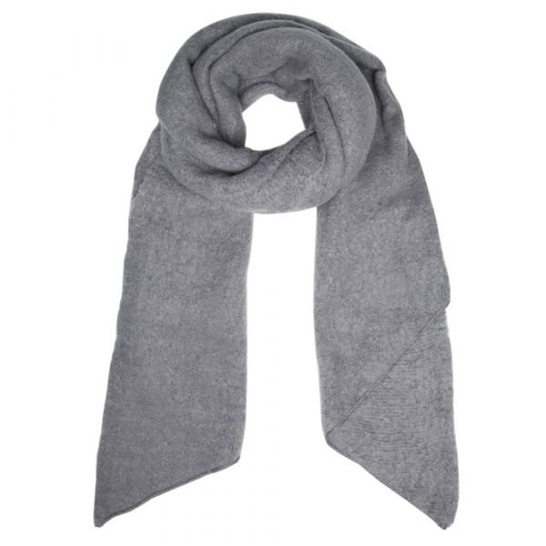 SELECTED | Sjaal franje grijs
