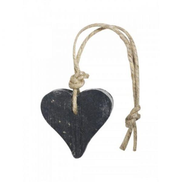 MIJN STIJL | Zeephanger hart zwart lavendel