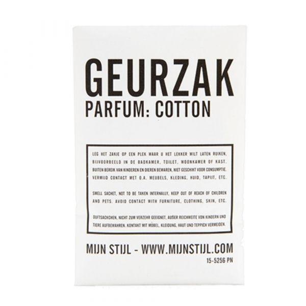 MIJN STIJL | Geurzak cotton