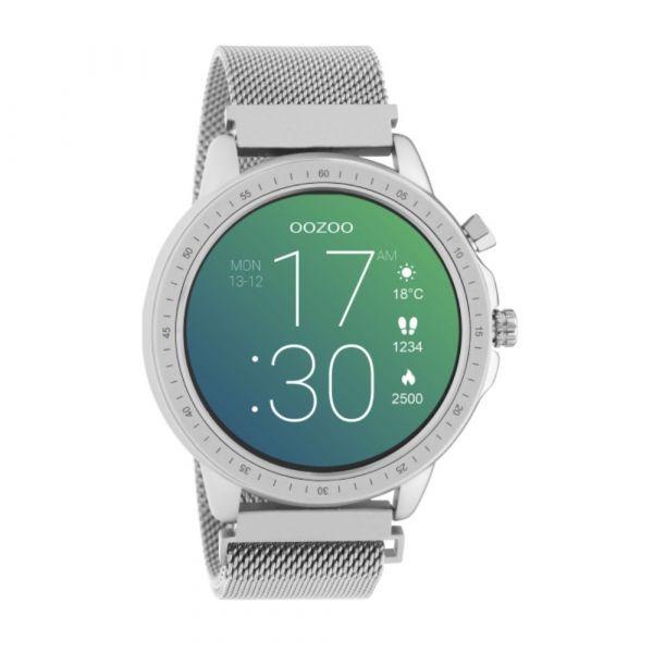 OOZOO | Smartwatch unisex zilver mesh