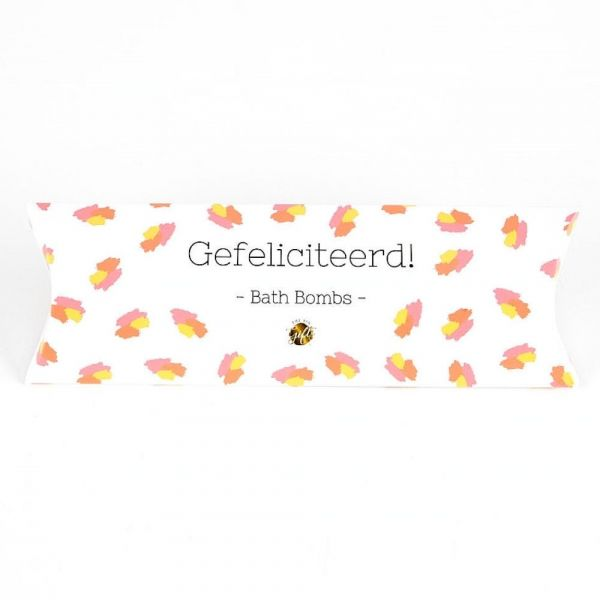 THE BIG GIFTS | Bath Bombs - Gefeliciteerd