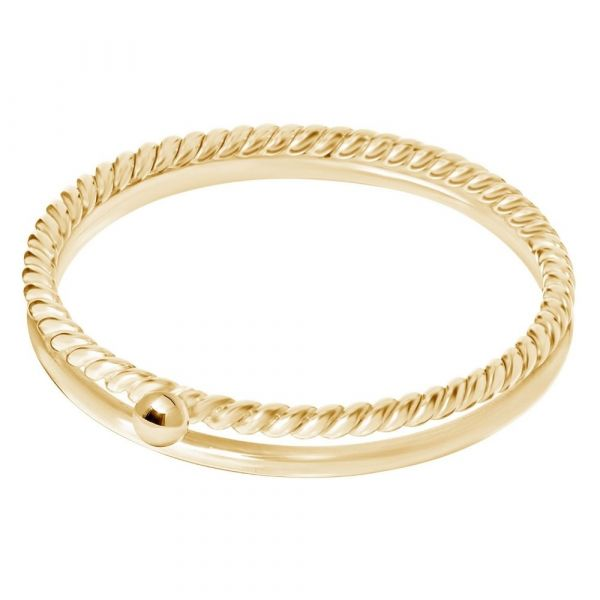 A BREND | Charla 18K Gold Plated Ring Maat 19