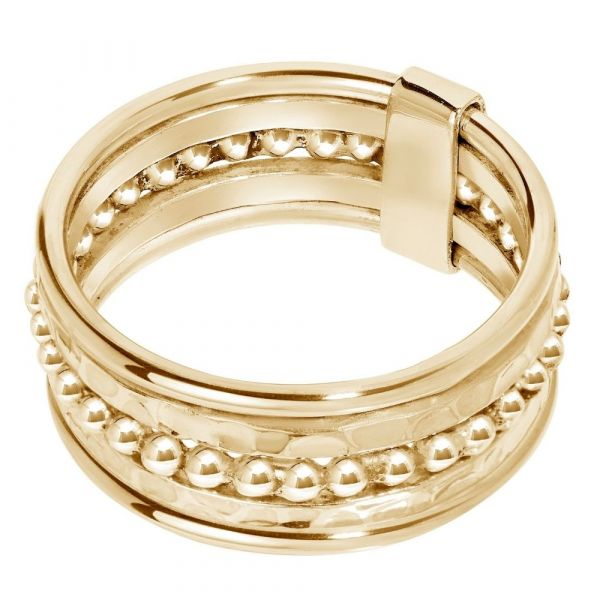 A BREND | Iaro 18K Gold plated Ring