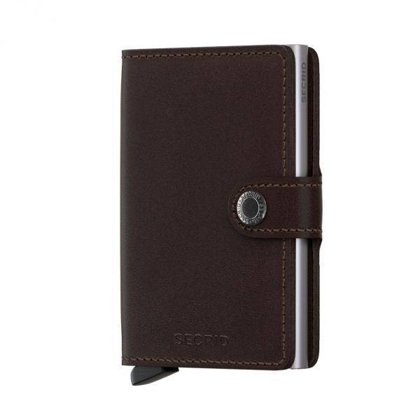 SECRID | Miniwallet MO-Dark Brown