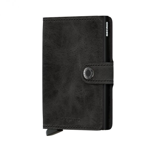 Secrid Wallets Miniwallet Vintage MV-Black