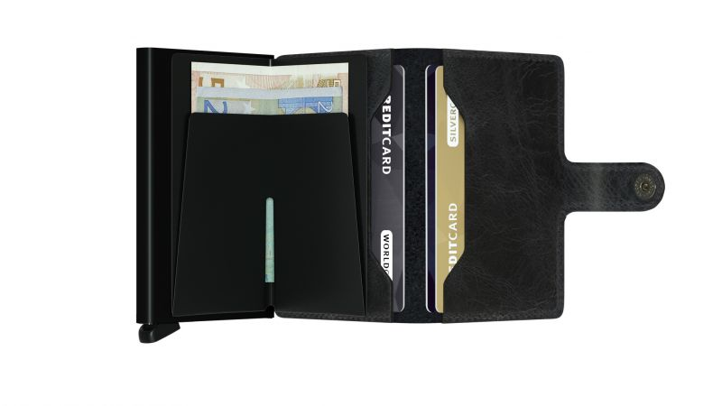 Secrid Wallets Miniwallet Vintage MV-Black 2