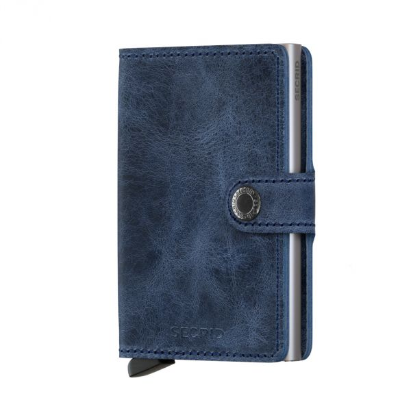 Secrid Wallets Miniwallet Vintage MV-Blue 1
