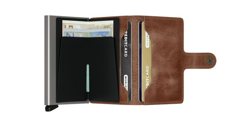 Secrid Wallets Miniwallet Vintage MV-Cognac 2