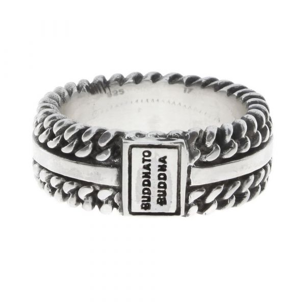 BUDDHA TO BUDDHA | Chain Texture ring