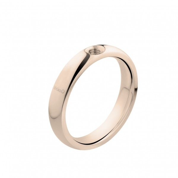 MELANO | Twisted tracy ring rose