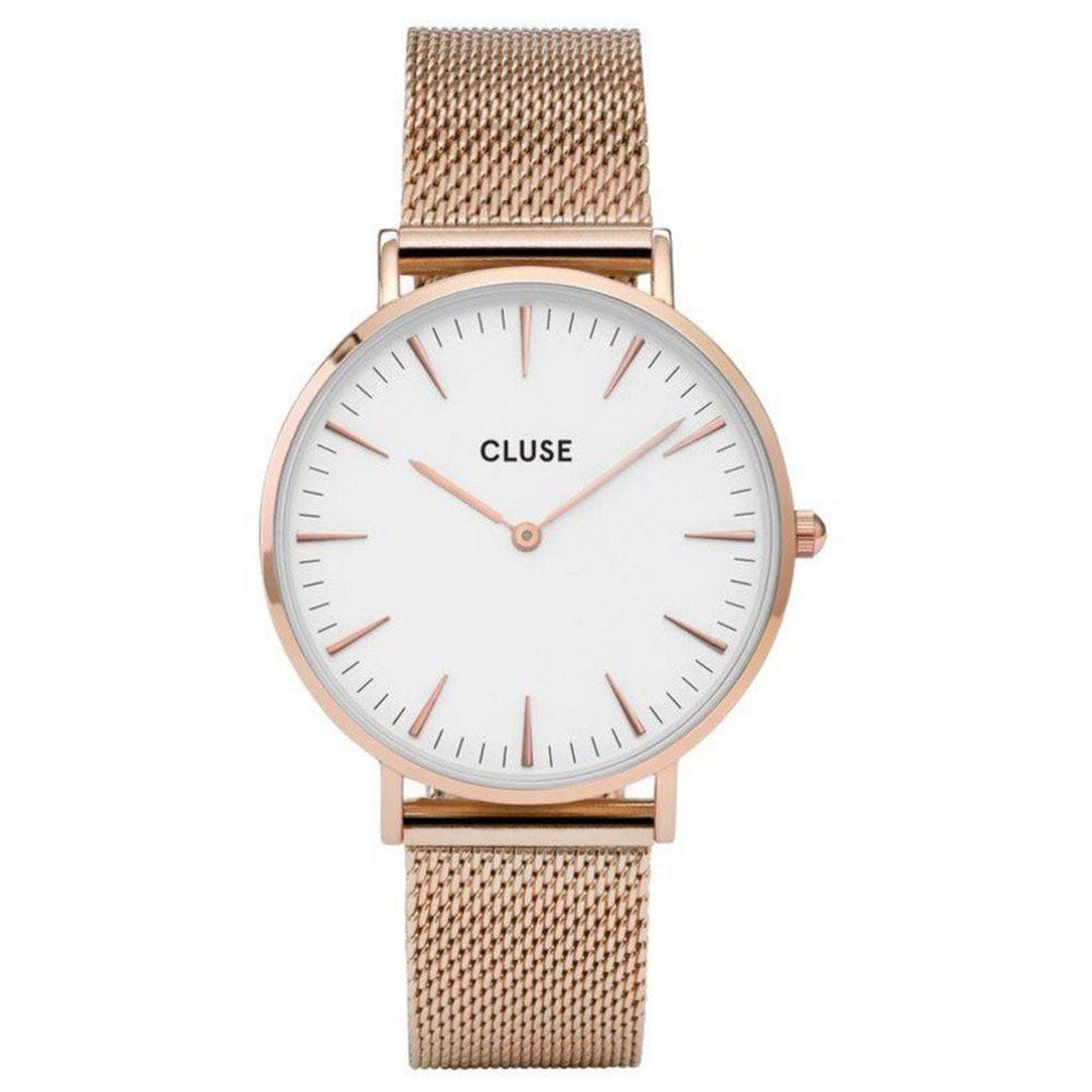 CLUSE | Boho Chic mesh rose - white