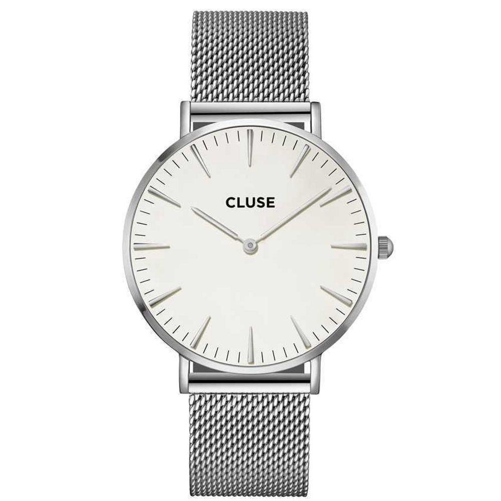 CLUSE | La Boheme mesh silver - white