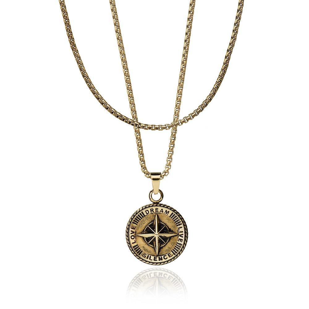 CROYEZ JEWELRY | Compass gold