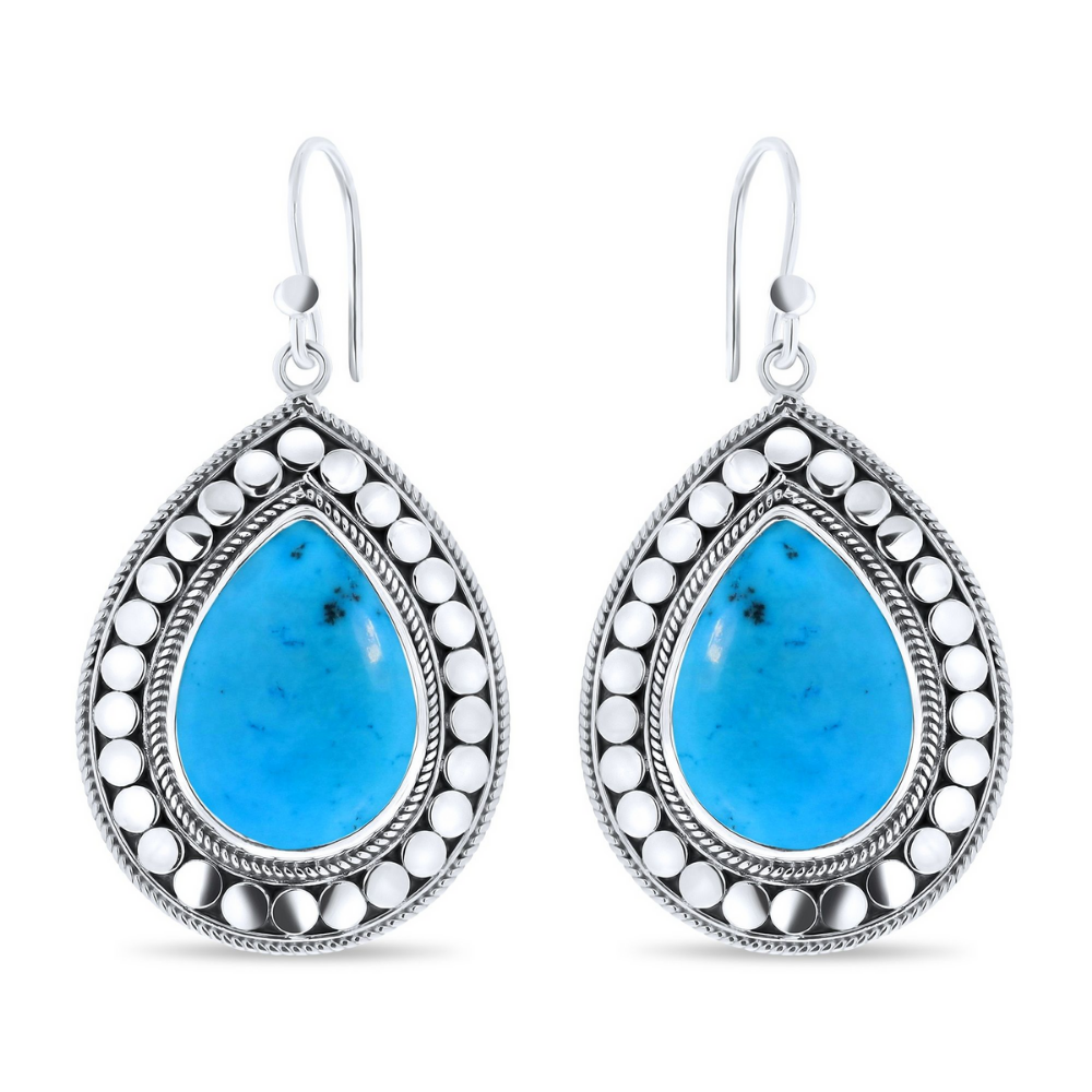 CLOSE TO ZEN | Oorbellen - Feels like summer turquoise