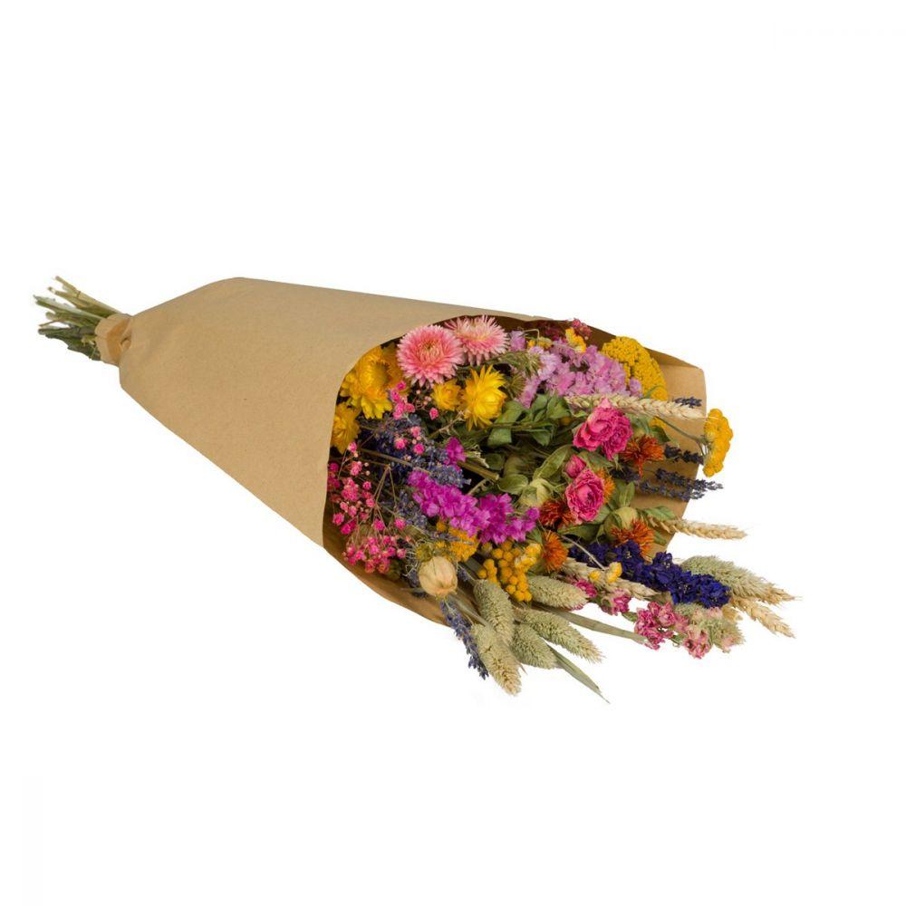 WILD FLOWERS | Droogbloemen boeket L Multi