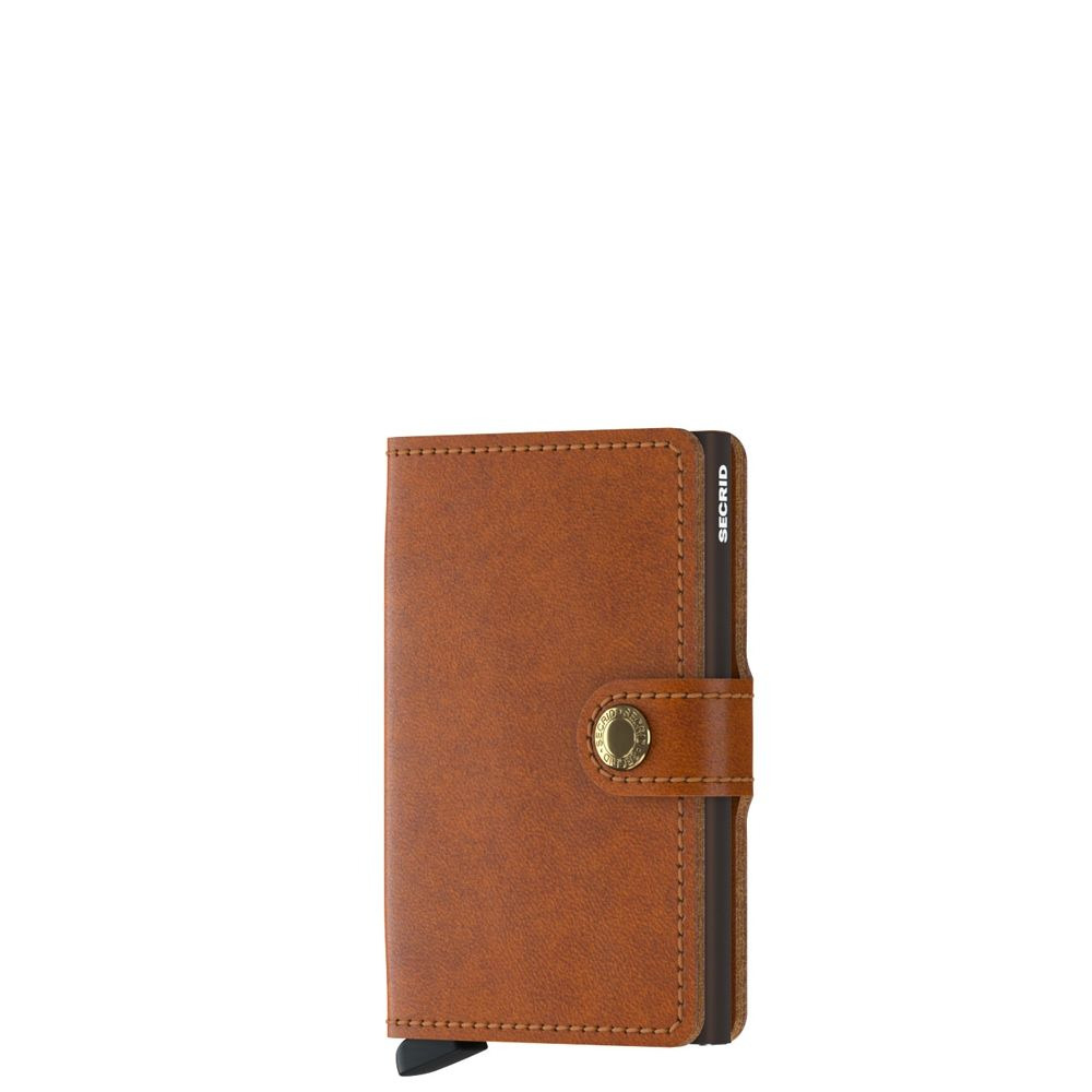 SECRID | Miniwallet MO-Cognac-Brown