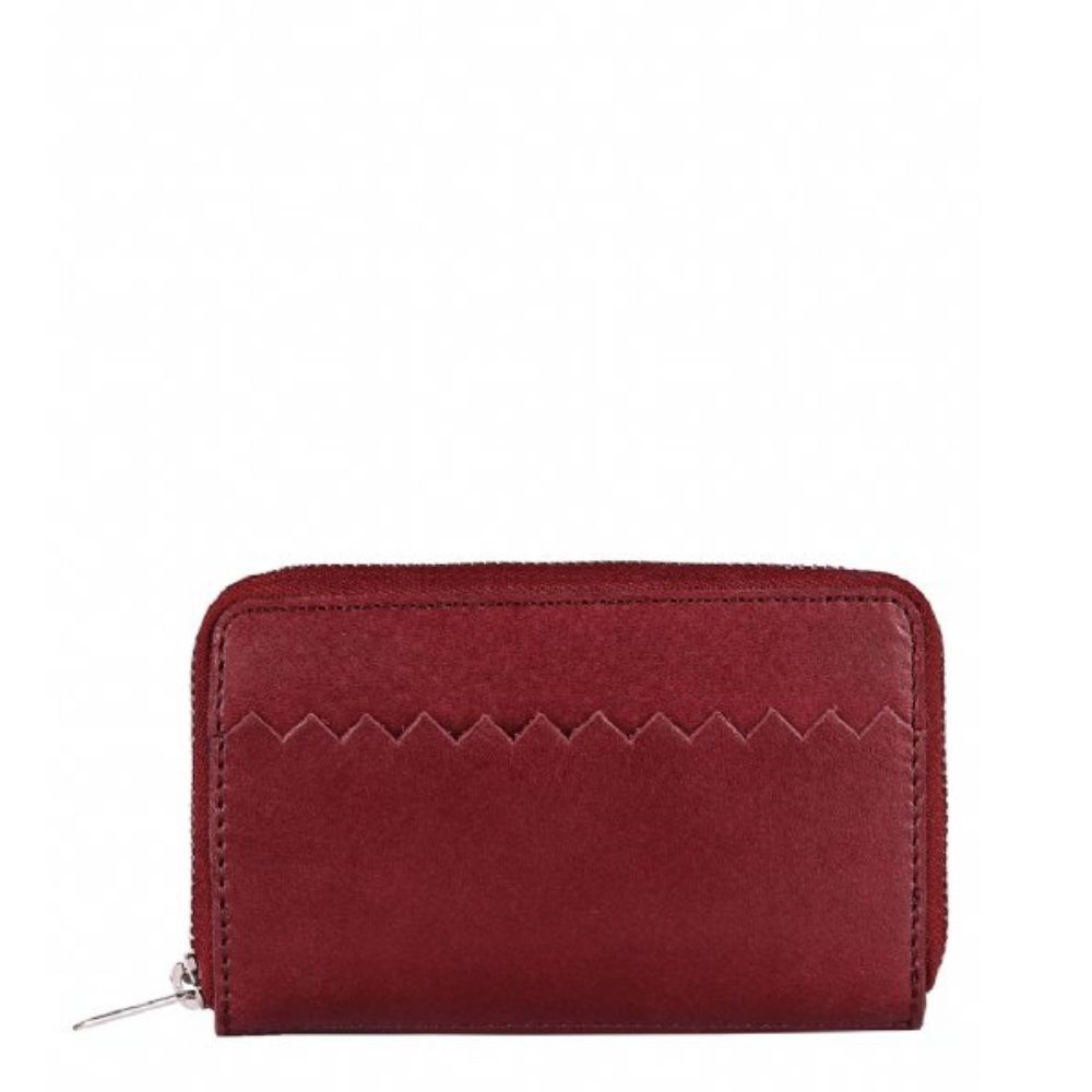 MYOMY | Wallet Medium - Hunter Waxy Burgundy