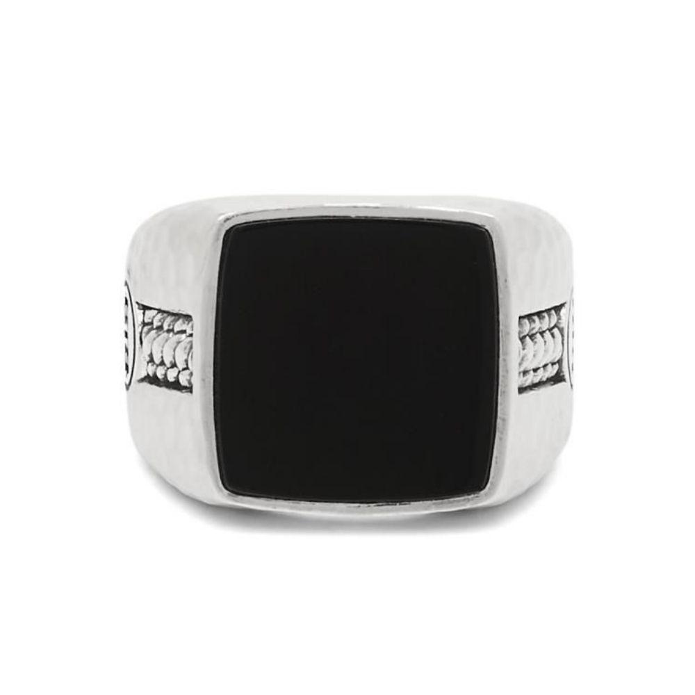 BUDDHA TO BUDDHA | Tangguh signet onyx ring