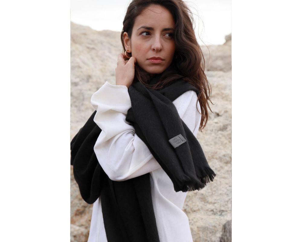 BUFANDY | Sjaal Solid XS - Black