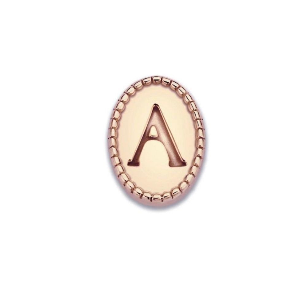 MI MONEDA | Icons Letter C/K - rosegold