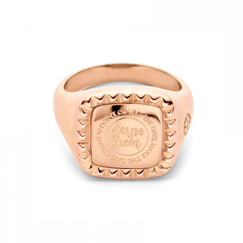 MI MONEDA | Vintage Ring Manhatten - rosegold