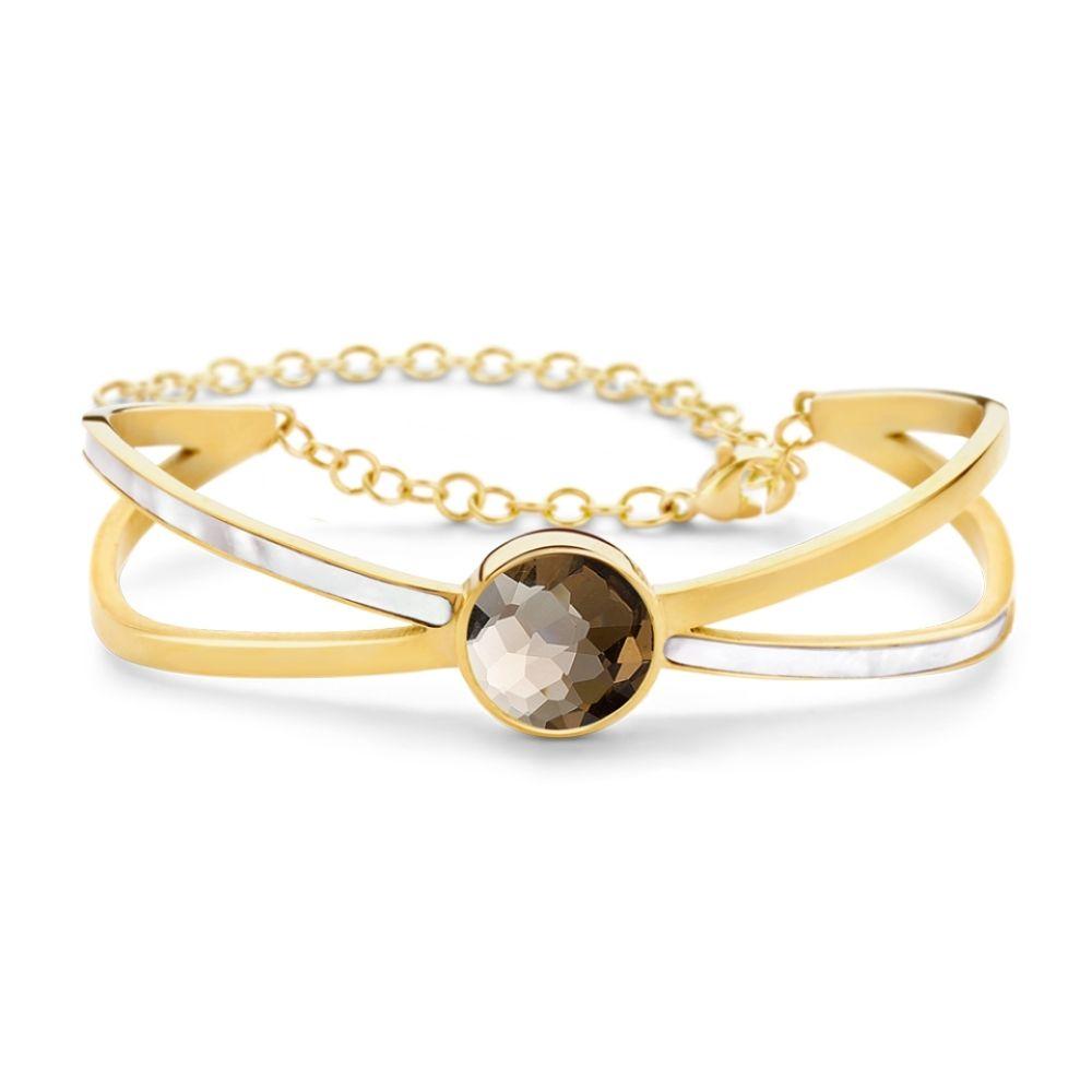 MI MONEDA | Armband Santiago XS - Gold
