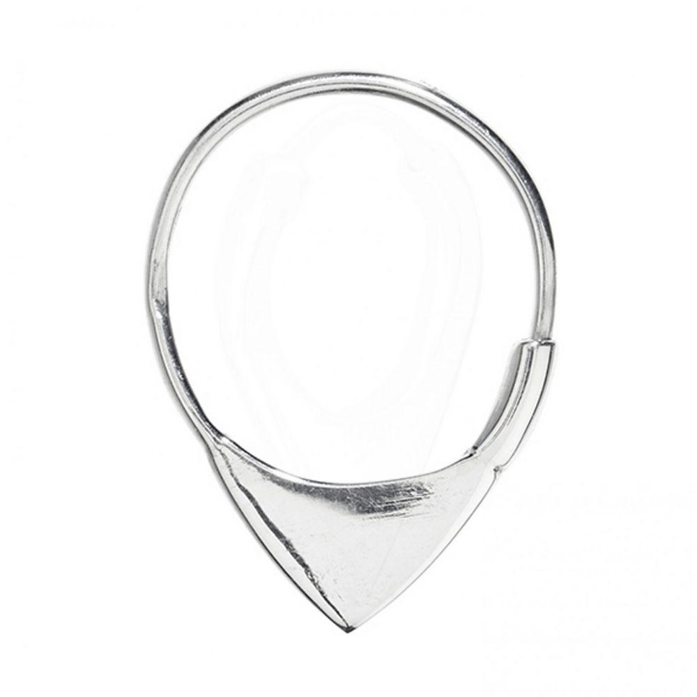 A-BREND | Oorbellen Mijs zilver