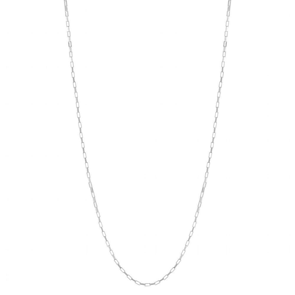 A BREND | Ketting Felixi 32-40cm zilver
