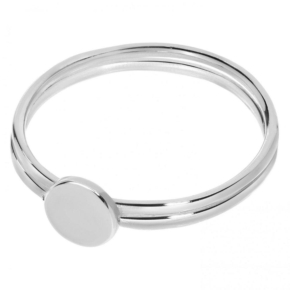 A BREND | Ring Brune zilver