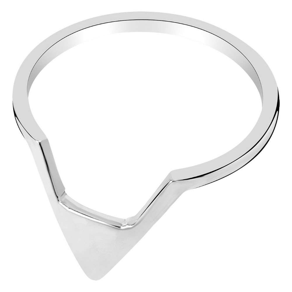 A BREND | Ring Penney zilver