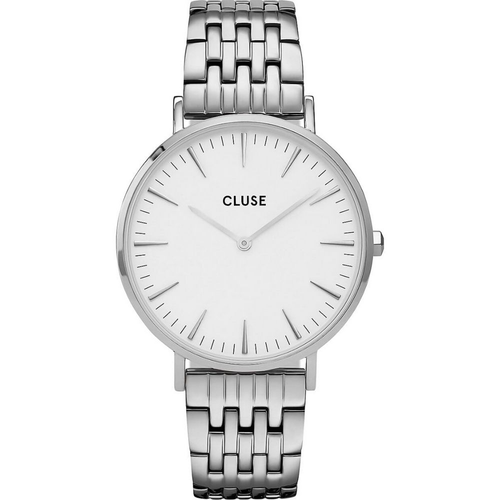 CLUSE | Boho Chic Schakelband - Zilver