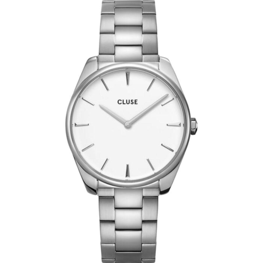 CLUSE   Féroce Zilver/Wit