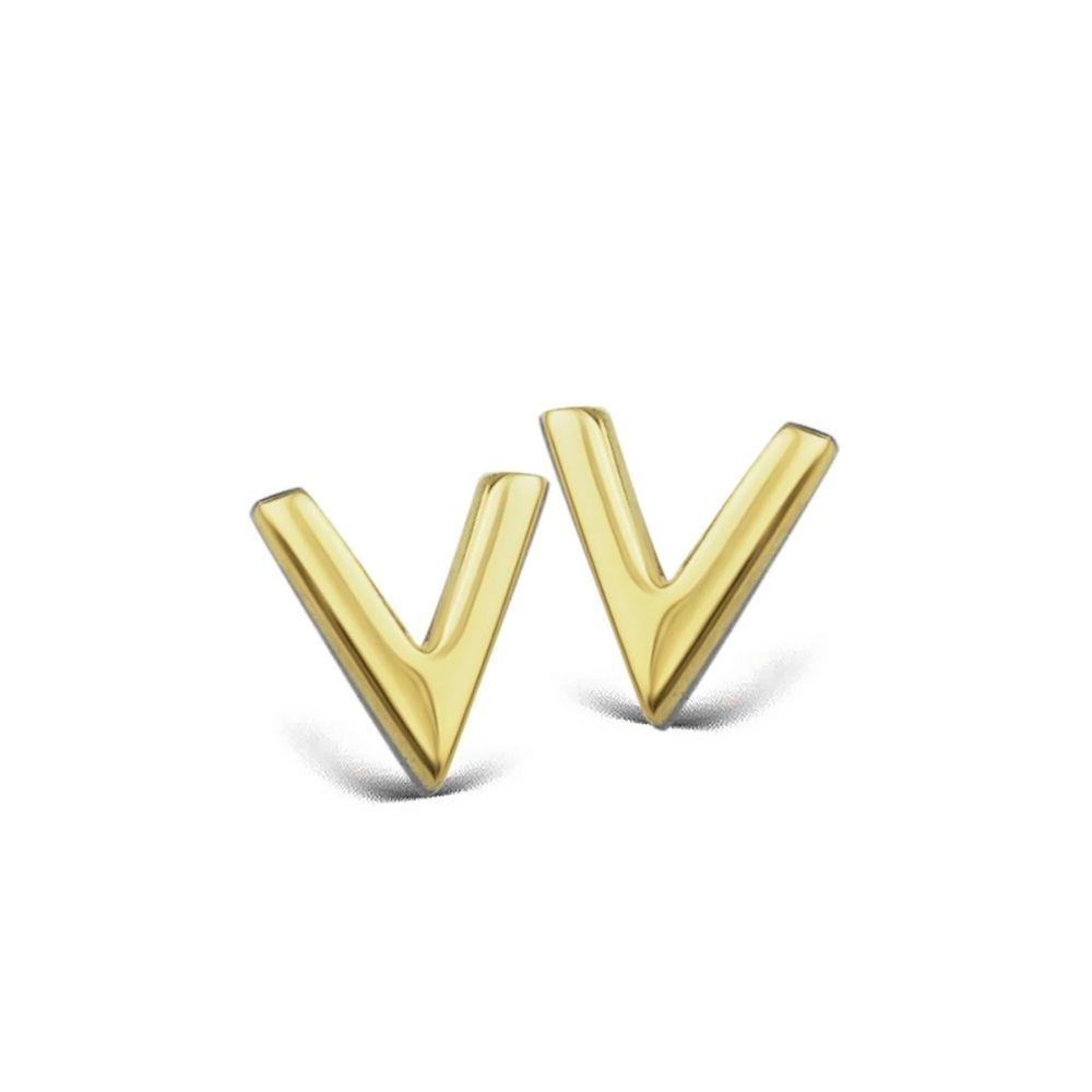 JWLS4U | Earstuds V Gold