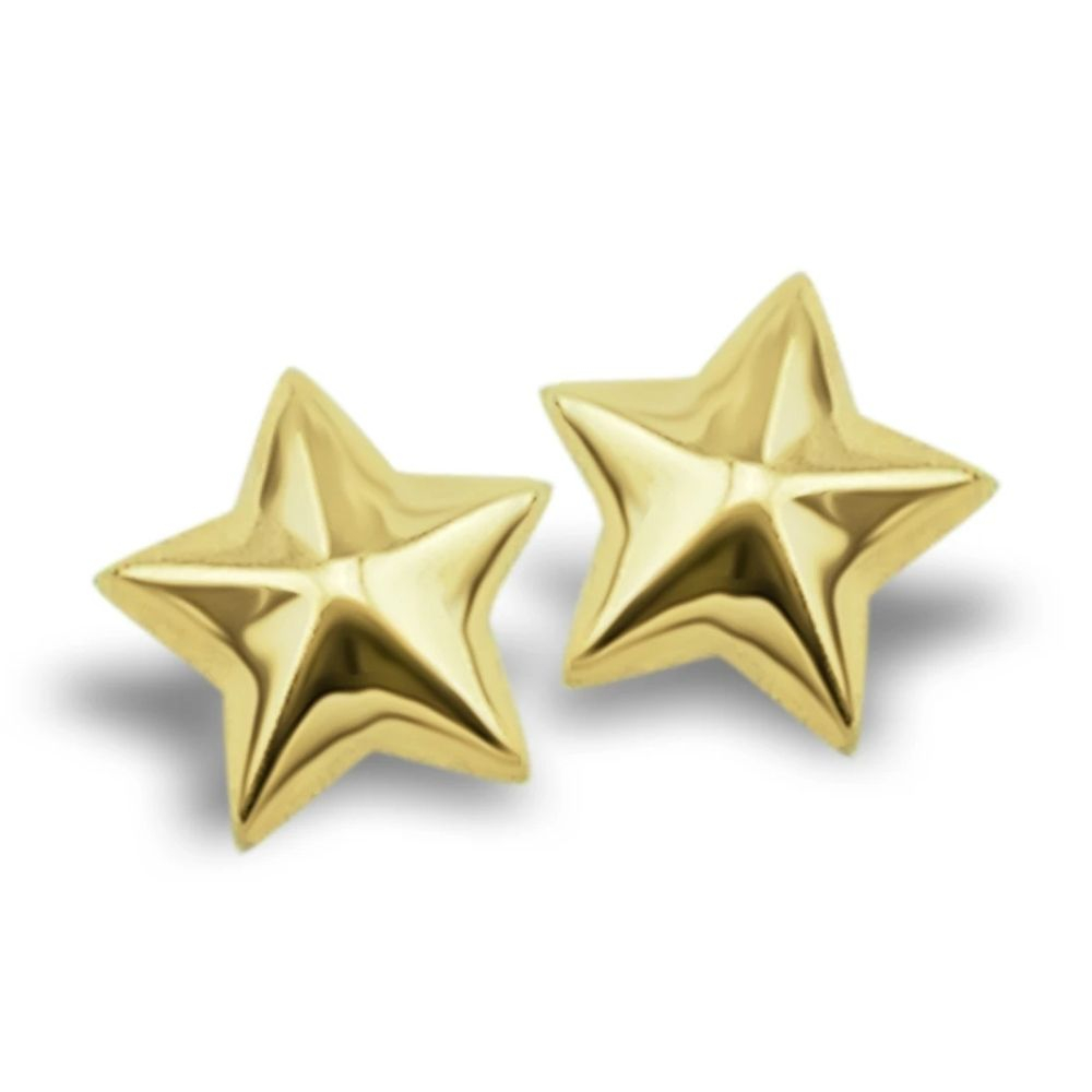 JWLS4U | Earstuds Star Gold