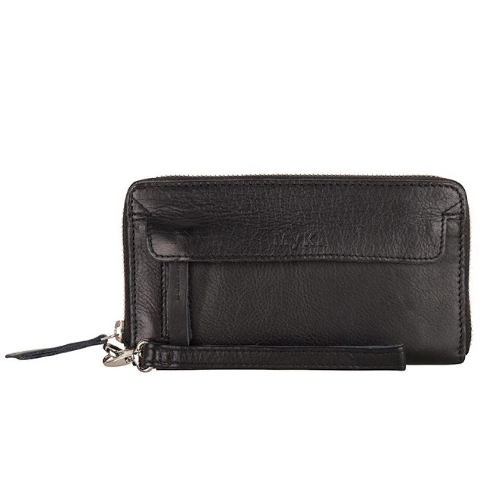 MYK Bags | Purse Spendit Black