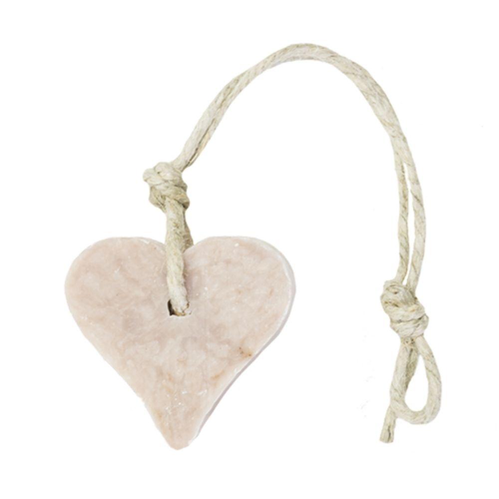 MIJN STIJL | Zeephanger hart zacht roze