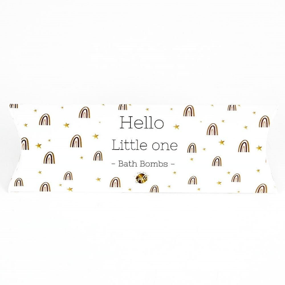 THE BIG GIFTS | Bath bombs - Hello little one