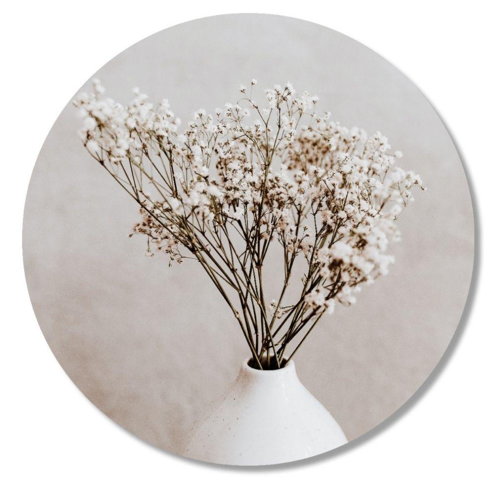 THE BIG GIFTS | Muurcirkel - Vintage bloem