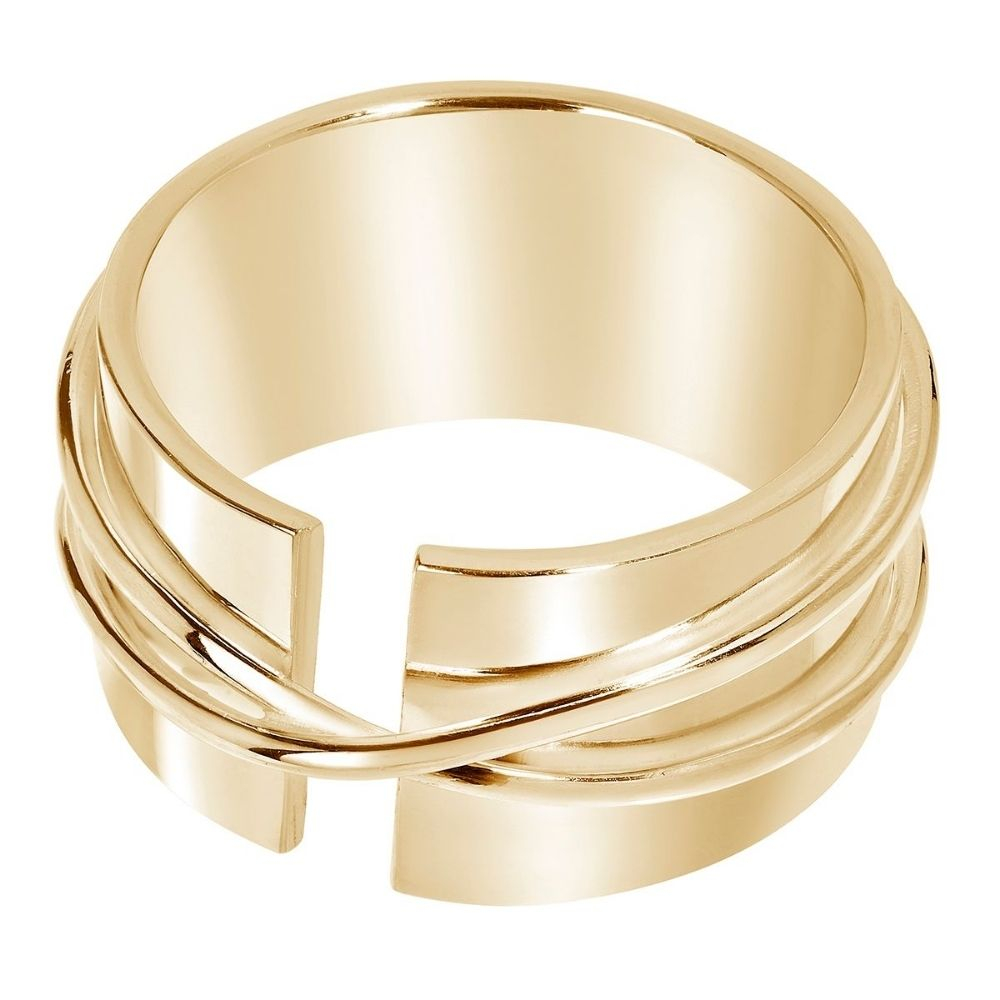 A BREND | Icil 18K Gold Plated Ring