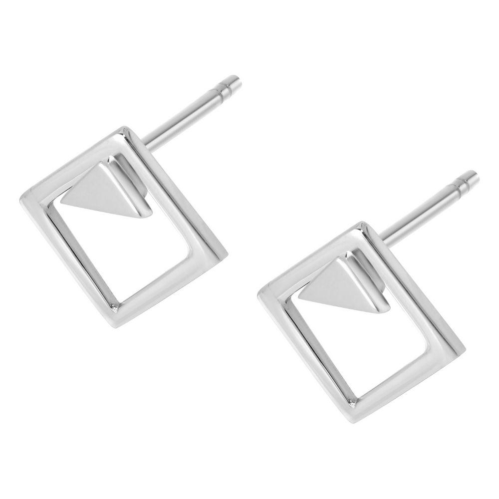A BREND | Uzka Sterling 925 Silver Earring
