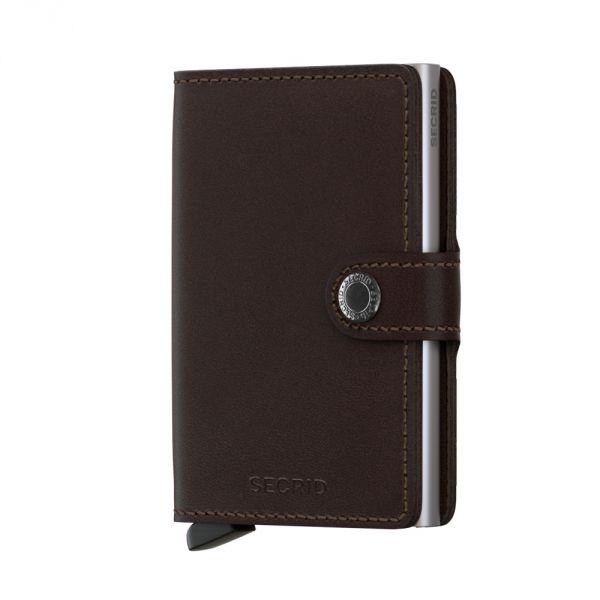 Secrid Wallets Miniwallet Original MO-Dark Brown