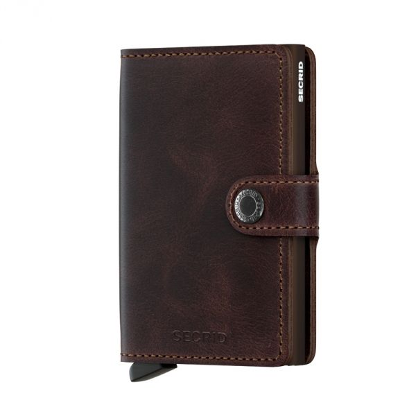 Secrid Wallets Miniwallet Vintage MV-Chocolate